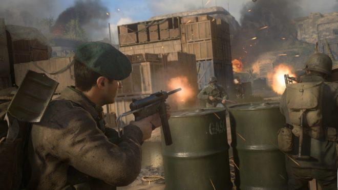 Imagem do jogo Call of Duty: WWII Foto: Divulgação