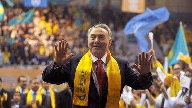 Nursultan Nazarbayev, ditador do Cazaquistão