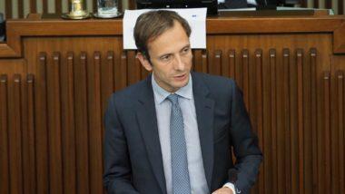 O político italiano Massimiliano Fedriga, da Liga. Foto: Reprodução / Facebook