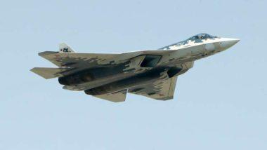 O jato de combate russo Su-57. Foto: Mikhail Tereshchenko/ TASS