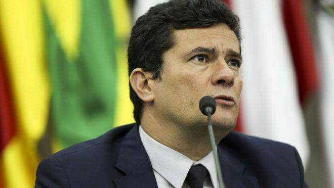 O ministro da Justiça e Segurança Pública, Sergio Moro (Imagem: Divulgação)