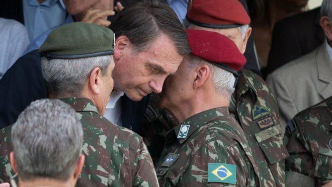 General Ramos e Bolsonaro