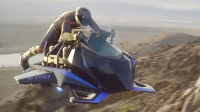 Resultado de imagem para moto voadora SPEEDER