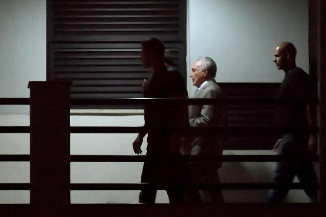 Ex-presidente Michel Temer chega à Polícia Federal no Rio de Janeiro | MAURO PIMENTEL/AFP