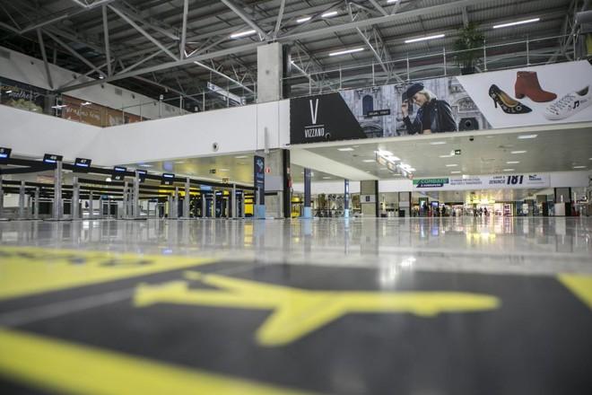 Aeroporto Afonso Pena, na Grande Curitiba. | Marcelo Andrade/Arquivo Gazeta do Povo
