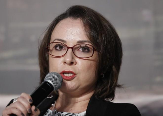 A delegada Erika Marena falou sobre as duas investigações durante o 1.º Fórum Nacional sobre Crimes Econômico-Financeiros. | Jonathan Campos/Gazeta do Povo