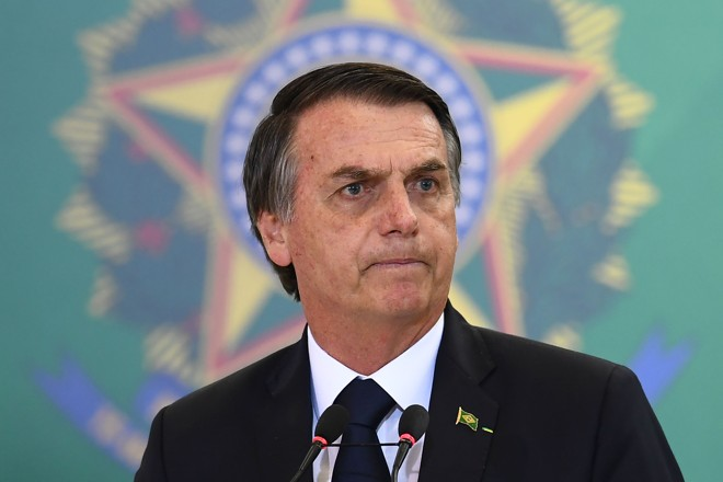 O presidente Jair Bolsonaro fará uma viagem oficial aos Estados Unidos entre os dias 17 e 19 deste mês. | Evaristo Sá/AFP