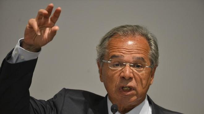 Oministro da Economia, Paulo Guedes. | Valter Campanato/Agência Brasil