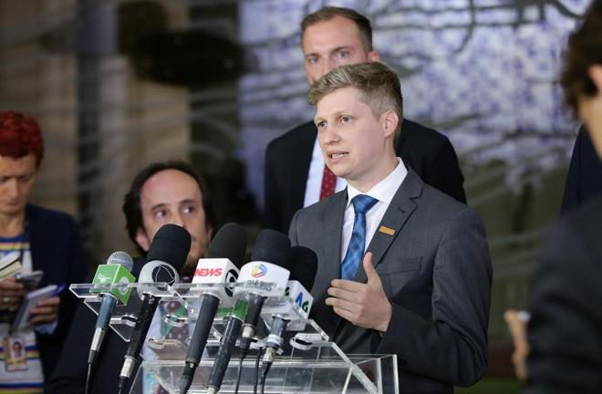 Olíder do partido Novo na Câmara, deputado Marcel Van Hattem (RS) | Divulgação/Câmara dos Deputados