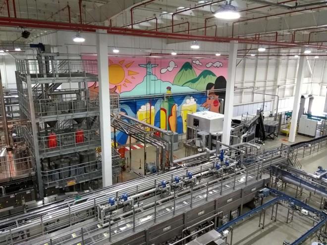 O O Centro de Inovação e Tecnologia Cervejeira (CIT) da Ambev vai usar energia solar. | Divulgação/Ambev