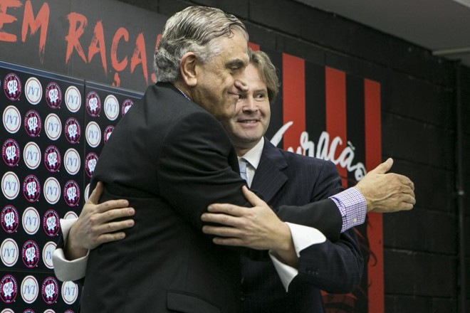 Mario Celso Petraglia, presidente do Conselho Deliberativo do Athletico. | Marcelo Andrade/Gazeta do Povo
