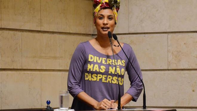 Suspeitos de matar a vereadora Marielle Franco foram presos no Rio. | Renan Olaz/ CMRJ