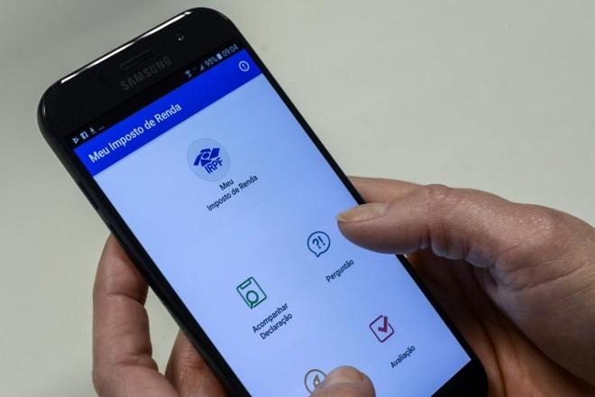 Programa da declaração está liberado para download na página da Receita, tanto para desktops quanto para dispositivos móveis. | Henry Milleo/Gazeta do Povo