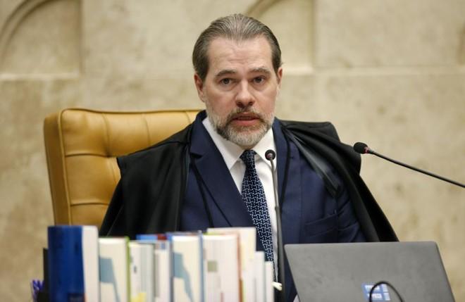 O presidente do STF, Dias Toffoli, rebateu críticas após as derrotas da  Lava Jato na corte. | Rosinei Coutinho/SCO/STF