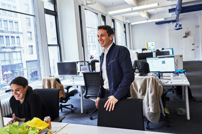 Matt Sacks, executivo-chefe da Luminary   AN RONG XU/NYT