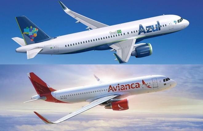 Na prática, a Azul já vinha se beneficiando da crise da Avianca, ao ficar com aviões devolvidos pela empresa às credoras. | Divulgação/
