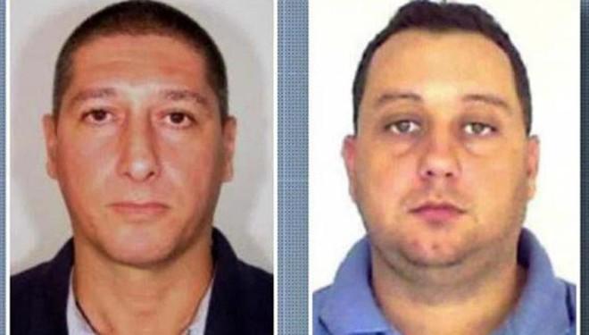 O policial reformado Ronnie Lessa e o ex-PM Élcio Vieira de Queiroz, acusados de matar a vereadora Marielle Franco em março do ano passado. | HO/AFP