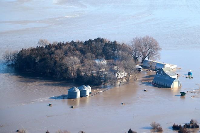 Prejuízo na agricultura, somente em Nebraska, já é estimado em US$ 1 bilhão | HO/AFP