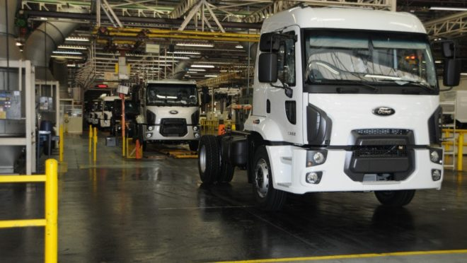 A Caoa estaria disposta a manter a linha de caminhões Cargo, sob licença da Ford, Foto: Ford/ Divulgação