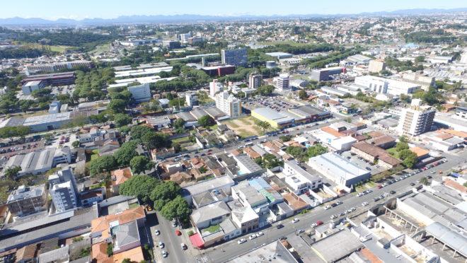 Curitiba vista de cima