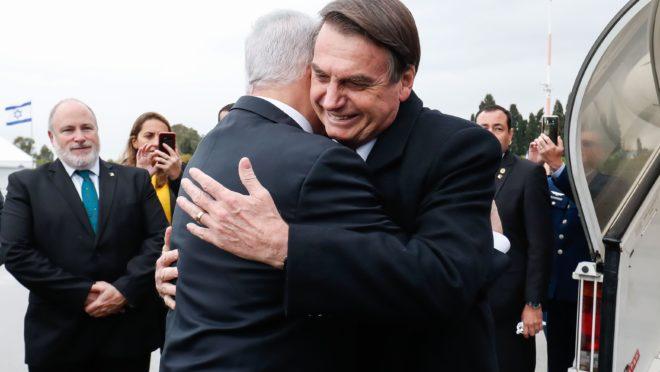 Viagem de Bolsonaro a Israel
