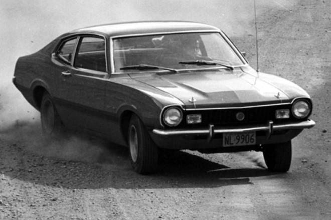 O Maverick é um clássico da indústria automotivo, sendo vendido também no Brasil na década de 1970. Foto: Ford/ Divulgação