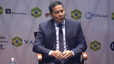 Hamilton Mourão no encerramento da Brazil Conference 2019