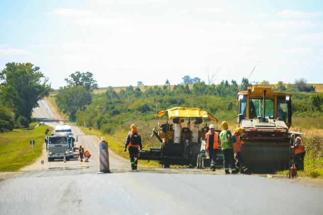 Obras rodoviárias para melhorar o acesso ao Porto de Nueva Palmira, no Uruguai | Michel Willian