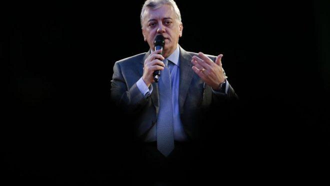 O ex-presidente da Petrobras, Aldemir Bendine.