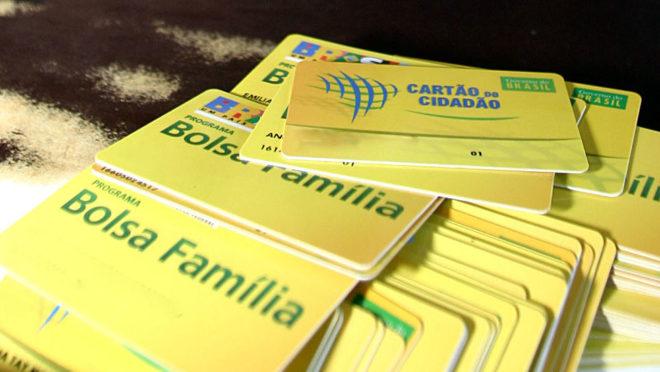 cartões do Bolsa Família
