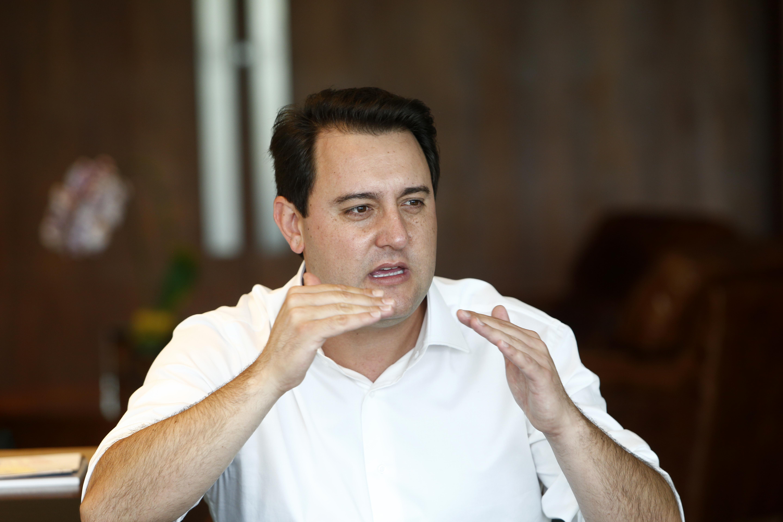 Ratinho Junior quer manter o equilíbrio das contas do estado