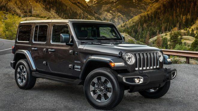 O Jeep Wrangler estreia a quarta geração no mercado brasileiro. Foto: Jeep/ Divulgação