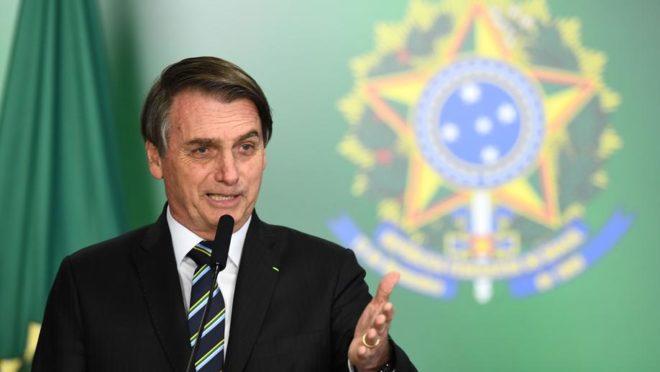 O presidente do Brasil, Jair Bolsonaro. Foto: Antônio Cruz/Agência Brasil.