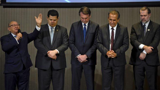 Almoço de Bolsonaro com Evangélicos