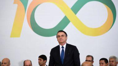 O presidente Jair Bolsonaro anunciou várias medidas para m,arcar os 100 dias de governo. Foto: Evaristo Sá/AFP