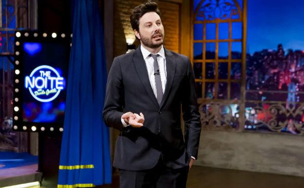 O comediante Danilo Gentili, apresentador do The Noite, do SBT (Imagem: Divulgação)
