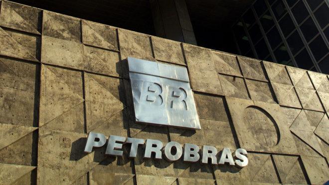 Fachada da sede da Petrobras, no Rio