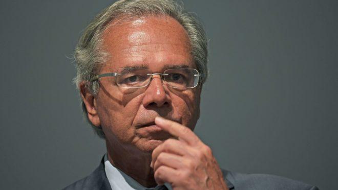 O ministro da Economia, Paulo Guedes. Foto: Carl de Souza/AFP