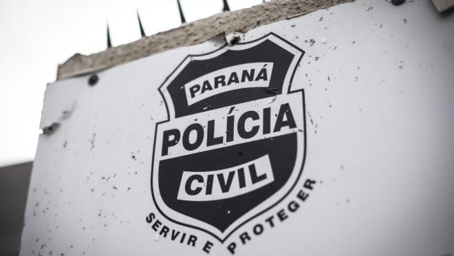 Brasão da Polícia Civil do Paraná.