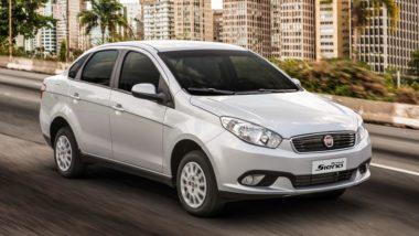 O Grand Siena movido a gás foi fabricado pela Fiat até 2017. Foto: Fiat/ Divulgação