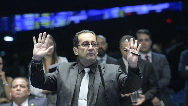 O senador Jorge Kajuru (PSB-GO). Foto: Roque de Sá/Agência senado