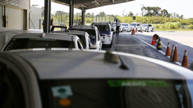Desembarque no Aeroporto Afonso Pena. Foto: Henry Milleo/Gazeta do Povo/Arquivo