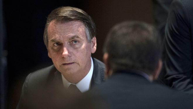 Presidente Jair Bolsonaro assinou o documento que deu origem ao Prosul e enterrou de vez a Unasul   Foto: Mauro Pimentel/AFP