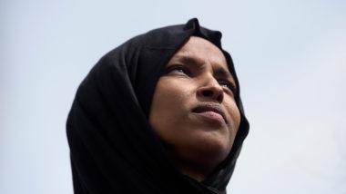 Deputada dos EUA, Ilhan Omar | Foto: Brendan Smialowski/AFP
