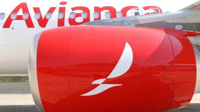 Aeronave da Avianca