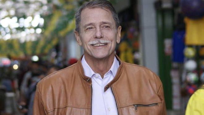 O general da reserva Paulo Chagas, nesta terça-feira. Foto: Reprodução/Facebook
