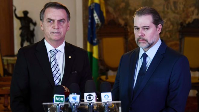 Bolsonaro e Toffoli