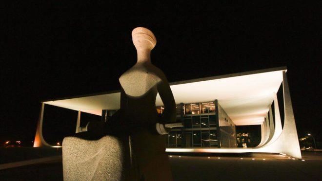 O prédio do Supremo Tribunal Federal (STF), na Praça dos Três Poderes, em Brasília Foto: Dorivan Marinho/STF