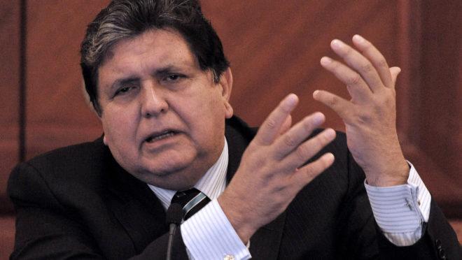 Ex-presidente do Peru Alan García | Foto: Cris BOURONCLE / AFP