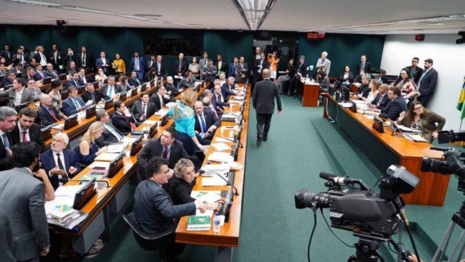 Reunião da CCJ da Câmara